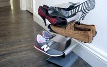 Những ý tưởng lưu trữ giày vừa thông minh vừa độc đáo