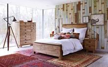 Đẹp ngỡ ngàng những phòng ngủ mang phong cách rustic