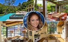 Căn biệt thự 900 tỷ đồng có khoảng không xanh mát đẹp như trong truyện cổ tích của Jennifer Lopez