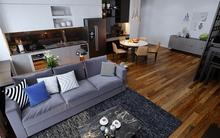 Tư vấn cải tạo căn hộ 45m² có 2 phòng ngủ cho cô gái độc thân 9x