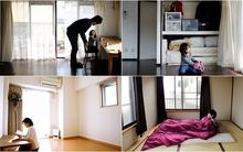 Cận cảnh căn hộ được bài trí một cách gọn gàng điển hình của người Nhật