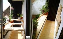 Ý tưởng thiết kế bàn ăn ngoài trời cho những không gian chỉ 3m²
