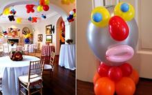 Trang trí tiệc tại gia bằng bóng bay - vừa rẻ vừa đẹp đến bất ngờ