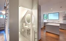 6 thiết kế nhà vệ sinh tận dụng góc chết dưới gầm cầu thang