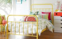 Giường khung sắt – món đồ nội thất vừa rẻ vừa đẹp cho phòng ngủ