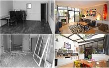 Cải tạo căn hộ 50m² tồi tàn thành không gian sống đầy sắc màu hiện đại