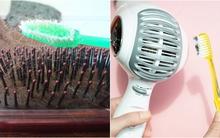 7 cách làm sạch đồ dùng trong nhà siêu nhanh với chiếc bàn chải đánh răng cũ