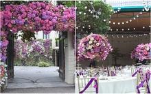 Cặp đôi ở Hà Nội trang trí nhà ngày ăn hỏi đẹp hoàn hảo với 7.800 cành hoa nhập
