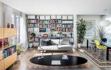 Căn hộ 64m² với thiết kế mở không tường bao vừa thoáng vừa hợp lý