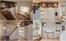 Cô gái 25 tuổi tự tay thiết kế căn hộ 22m² của mình đẹp không kém phòng khách sạn hạng sang