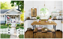 Ngôi nhà nhỏ bình yên với phong cách Vintage đẹp đến nao lòng
