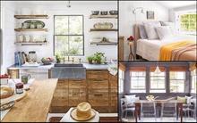 Ngôi nhà 2 tầng mang phong cách đồng quê khiến ai thấy cũng hài lòng