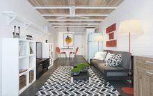 Với 80 triệu đồng, KTS đã bố trí nội thất giúp ngôi nhà 35m² vừa đẹp vừa thoáng