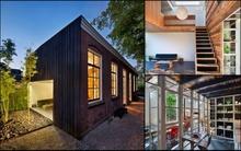 Ấn tượng với ngôi nhà mang phong cách hiện đại được sử dụng toàn nguyên liệu tái chế