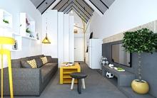 Tư vấn xây nhà 45m² đẹp lung linh với tổng chi phí chưa đến 170 triệu