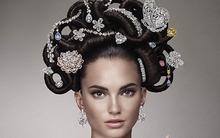 Chiêm ngưỡng mái tóc đính kim cương trị giá 10.500 tỷ đồng