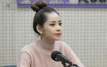 Chi Pu xinh hút hồn trong buổi phỏng vấn với đài KBS