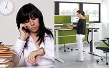 Lý do nhân viên văn phòng phải đứng ít nhất một giờ mỗi ngày