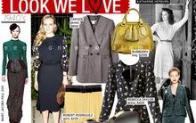 """Kiểu áo, váy thập niên 40' """"càn quét"""" thời trang thu đông 2011"""
