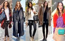 Ngắm street style cực đẹp vòng quanh thế giới tuần 1 tháng 1 năm 2012