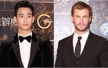 "Kim Soo Hyun bảnh bao vẫn ""lép vế"" Chris Hemsworth"
