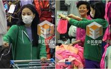 Vương Phi bịt kín mặt đi chợ bình dân mua đồ rẻ tiền