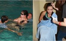 Thí sinh Hoa hậu Hồng Kông suýt chết đuối khi thi bơi