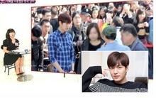 """Lee Min Ho """"dở khóc dở cười"""" nhờ cảnh sát hỗ trợ vào phòng vệ sinh"""