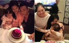 Từ Hy Viên đón sinh nhật ấm áp bên gia đình