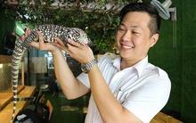 Khách Tây mê mệt tạo dáng với... rắn, bọ cạp tại cafe bò sát ở Sài Gòn