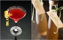 Sảng khoái với cocktail lê tự chế