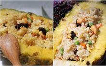 Đổi món cho bữa tối với cơm rang dứa kiểu Thái