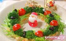 Salad siêu tốc cho bàn tiệc Giáng Sinh sắc màu