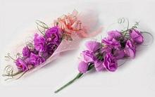 Lãng mạn với bó hoa chocolate tím