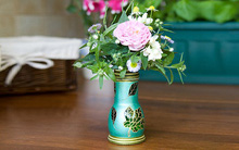 Biến lọ thủy tinh thành lọ hoa vintage cực đẹp