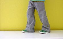 Cắt may quần dài cạp chun cơ bản cho bé