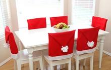 May áo Santa cho bộ bàn ghế nhà bạn đón Noel