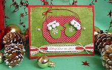 Tự tay làm thiệp Giáng sinh đẹp mà dễ