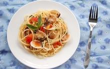 Món ngon cuối tuần: Mỳ Ý với ngao xốt bơ chanh