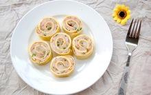 Trứng cuộn tôm lạ miệng ngon cơm