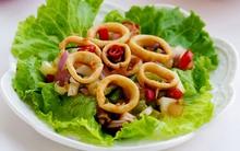 Món ngon cuối tuần: Mực hấp kiểu Thái