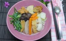 Tết Nguyên Tiêu ăn hủ tiếu chay thật ngon!