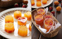 Cách làm thạch cam vừa đẹp vừa ngon