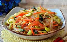 Salad rau mầm vừa giòn vừa mát