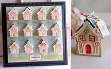 Làm tranh 3D ngôi làng kẹo ngọt tặng bé yêu