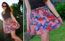 Tự may váy ngắn đơn giản mà xinh yêu