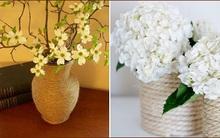 2 cách trang trí lọ hoa thanh nhã, tự nhiên