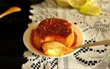 Mềm mịn thơm phức bánh flan chanh dừa