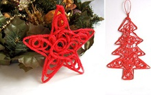 Cách trang trí cây thông Noel bằng len cực đẹp