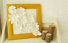 Khéo tay tự chế tranh hoa đẹp mắt trang trí nhà mình